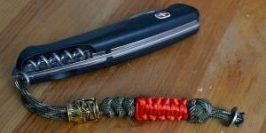 Темляки и бусины — полезные украшения для ножа