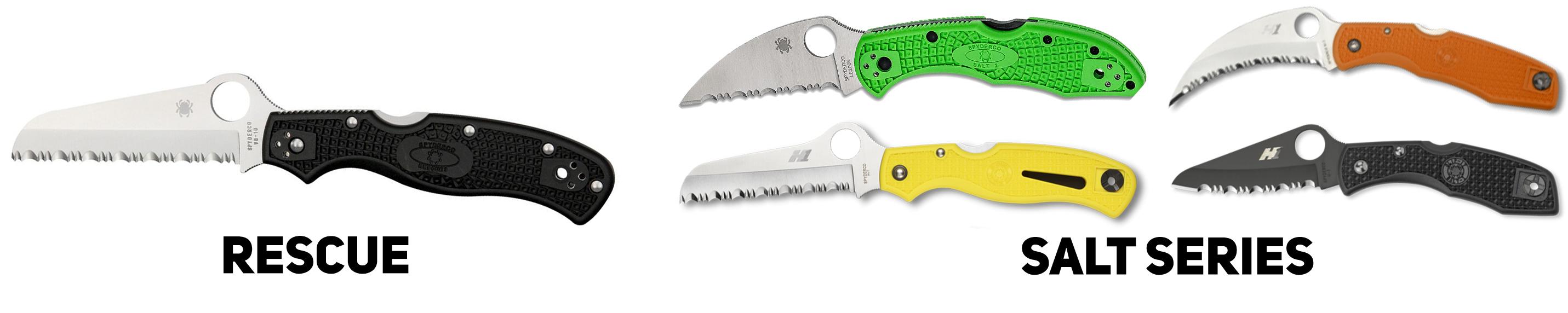 Ножи Spyderco с серрейтором