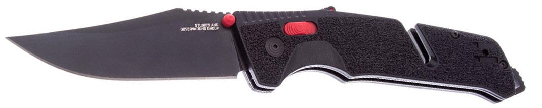 SOG Trident MK3 Black/Red