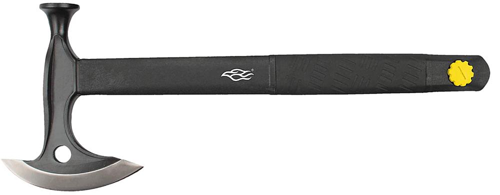 Походный топор Ganzo Firebird FSA02-YE — эта модель практична и универсальна. Этот топор был разработан специально для отдыха на природе. Он оснащен съемной пилой и небольшим огнивом. Все это компактно располагается на корпусе топора и при необходимости может быть использовано когда это необходимо. Топор укомплектован пластиковым чехлом на рубящую кромку. Набор из трех элементов: топора, пилы и огнива.