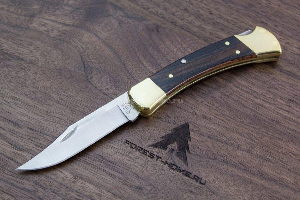 Складной нож BUCK Folding Hunter B0110BRS 420HC, рукоять дерево