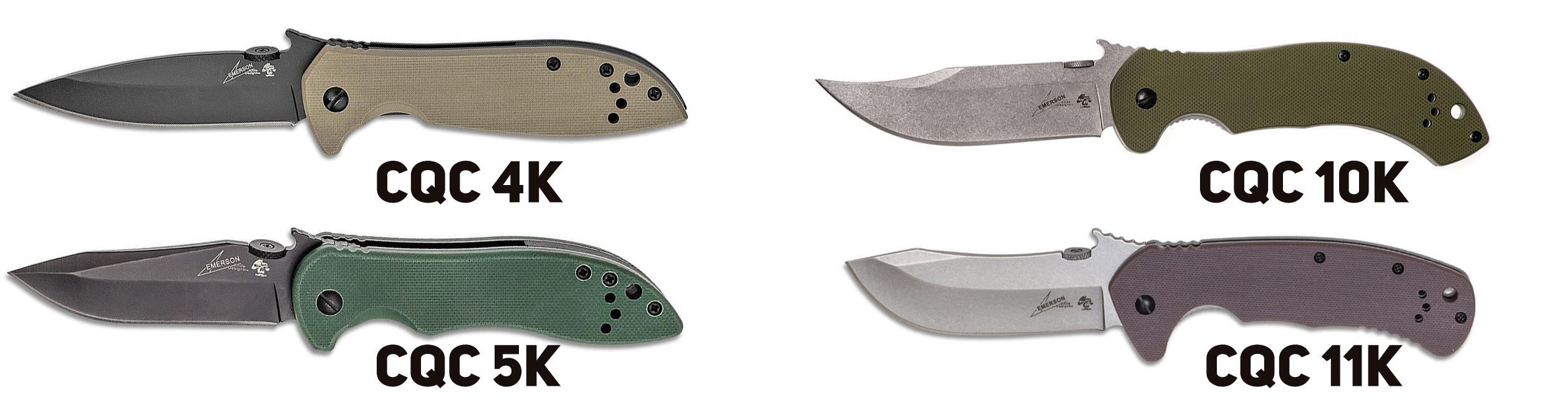 Ножи Эмерсона для Kershaw