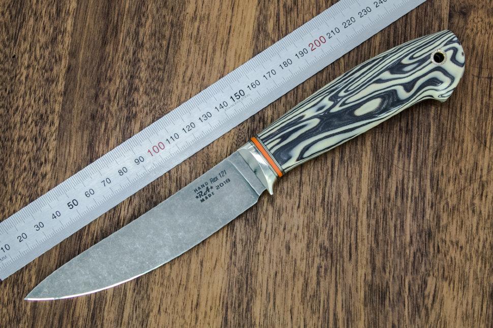 Нож ГМ 17.29 из стали REX 121 130 мм