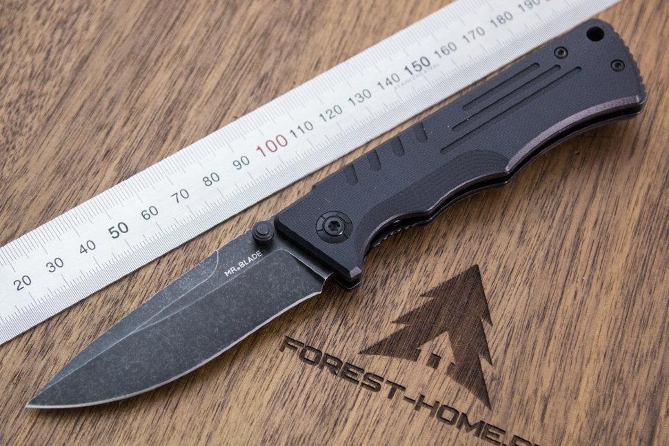 Нож складной Mr.Blade Split black сталь D2