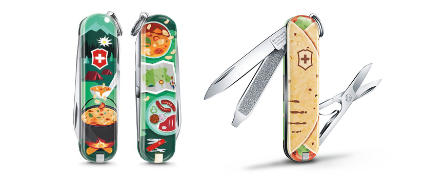 Victorinox Classic 2019 «Food of the World!»