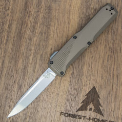 Нож автоматич. Benchmade Phaeton сталь S30V рук. Dark Earth Aluminium (BM4600-1)