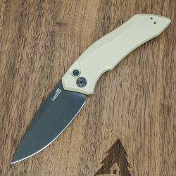 Нож Kershaw Launch 1 Tan автоматич. сталь CPM154CM рук. алюминий (7100TANBLK)