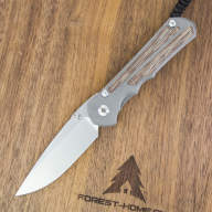 Нож Chris Reeve Large Inkosi Inlay Micarta Canvas Drop Point CPM S35VN