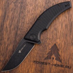 Нож складной Steel Will Sargas Blackwash сталь D2 рук. Black G10 (F60-08)