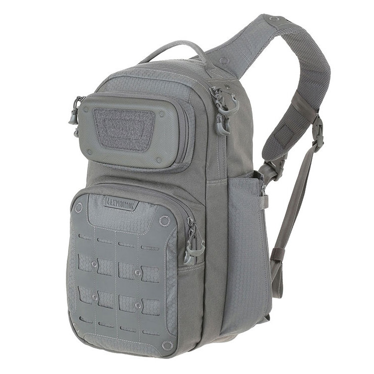 Рюкзак Maxpedition Gridflux Sling Pack Grey (GRFGRY)
