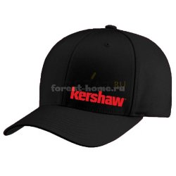 Бейсболка Kershaw Black Stretch Fit L/XL черная (KHatKerStretchfitBLK)