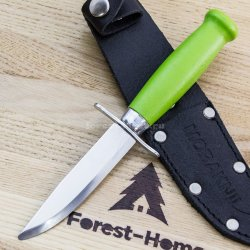 Нож Mora Scout 39 Safe Green сталь Stainless steel рук. береза 12022 (Швеция)