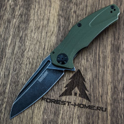 Нож Kershaw Natrix складной сталь 8Cr13MoV blackwash рук.G10 Olive (K7007OLBW)
