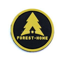 Патч Forest-Home Logo Ø40 мм