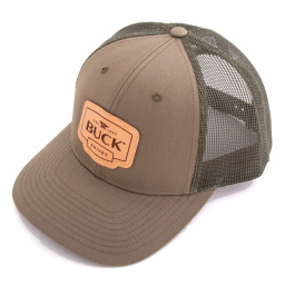 Бейсболка Buck Leather Patch Cap (89139)
