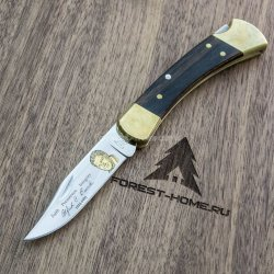 Нож BUCK Folding Hunter Weld складной 420HC рук. dymondwood (B0110BRSWD)