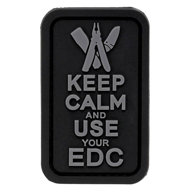 Патч Keep Calm and Use Your EDC