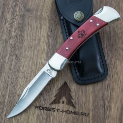 Нож BUCK Folding Hunter Boy Scout of America складной 420HC рук. cherrywood (B0110CWSBSA)