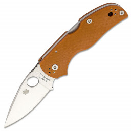 Нож складной Spyderco Native 5 C41GPBORE5 сталь CPM-REX45 рук. Burnt Orange G10