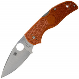 Нож складной Spyderco Native 5 Lightweight C41PBORE5 сталь CPM-REX45 рук. Burn Orange FRN