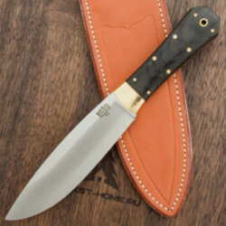 Нож Bark River Mini Rogue Black Canvas Micarta сталь A-2
