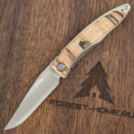 Нож Chris Reeve Mnandi Drop Point CPM S35VN Spalted Beech Wood Inlay